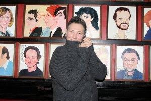 Celebrities Visit Broadway - January 31, 2014
