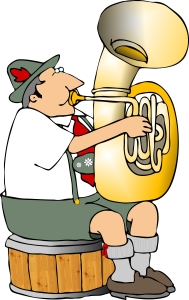 german tuba player
